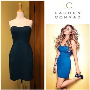 Lauren Conrad | Blue Cocktail Dress